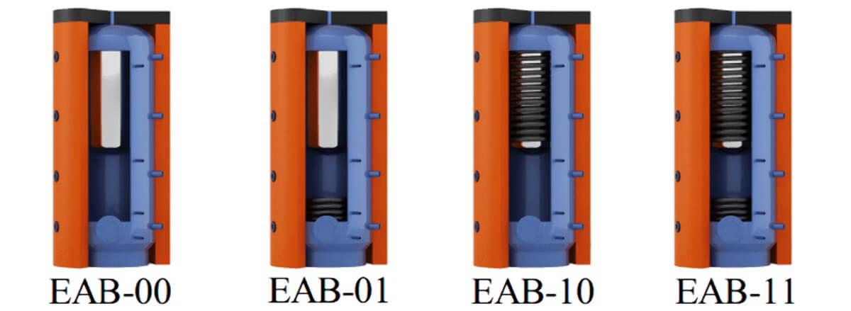 Теплоаккумуляторы EAB