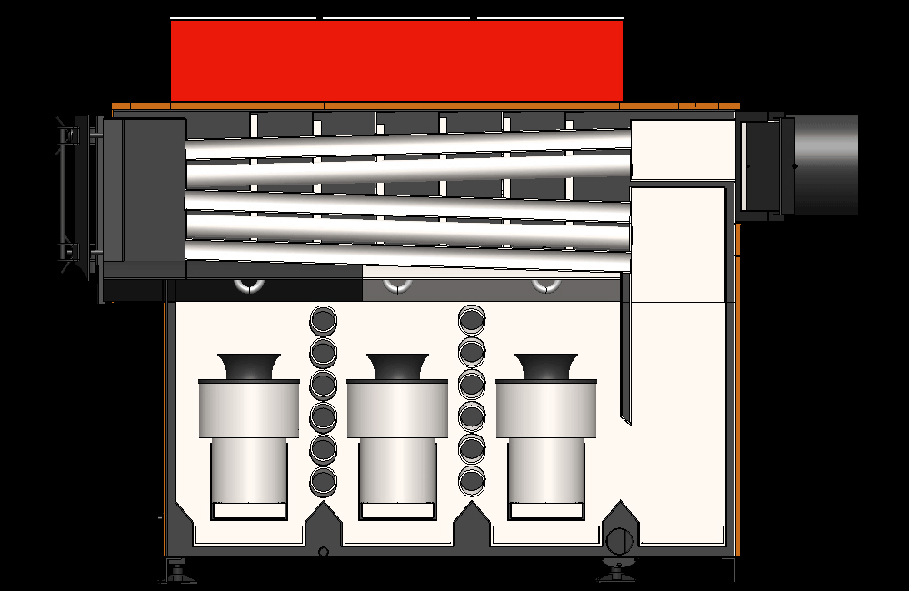 Устройство и размеры пеллетных котлов длительного горения